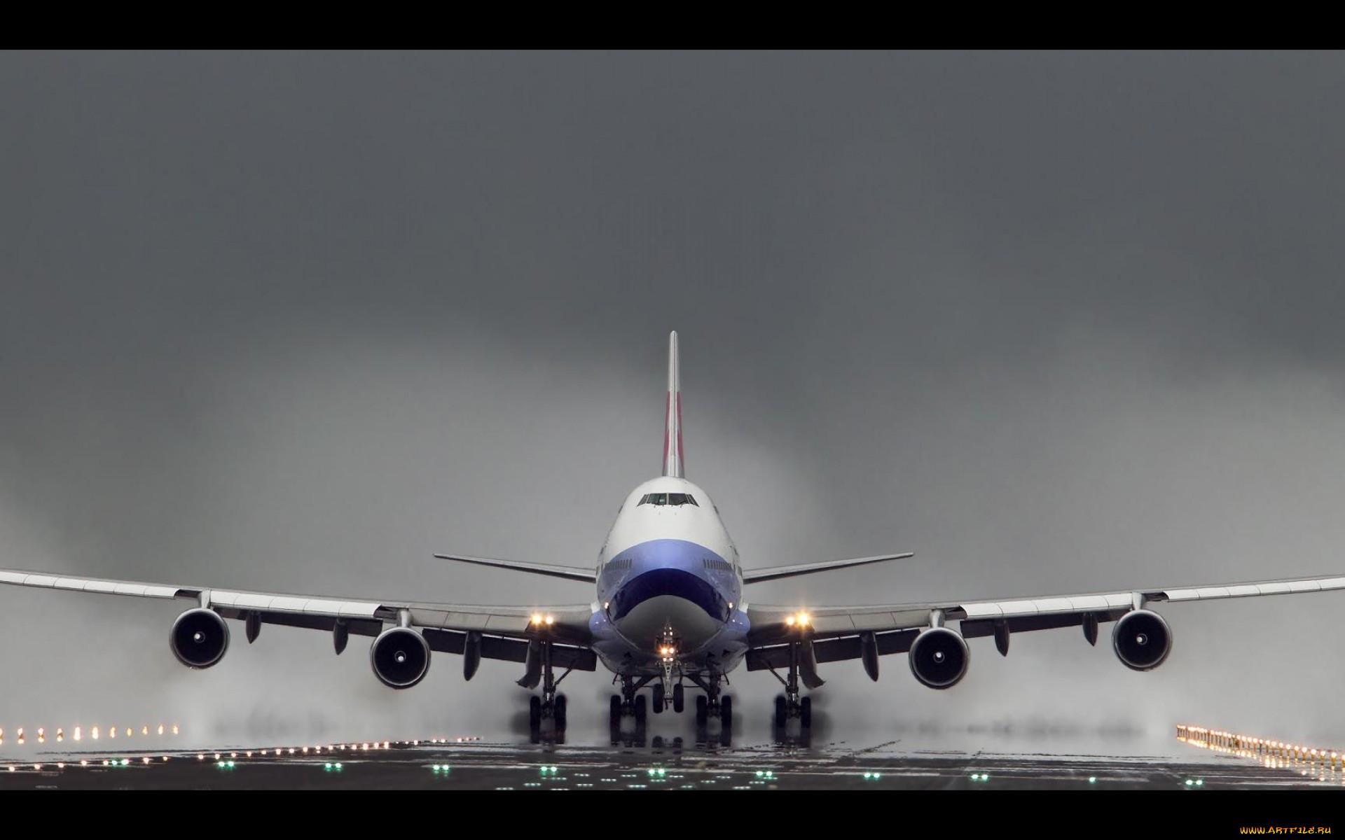 Обои boeing 747. Авиация foto 10